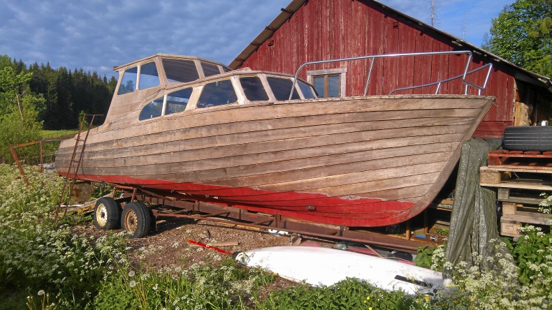 Mahongyboat cruiser oinredd