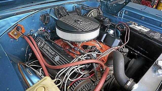 Dodge Charger V8 383-TH 727 SERVO.