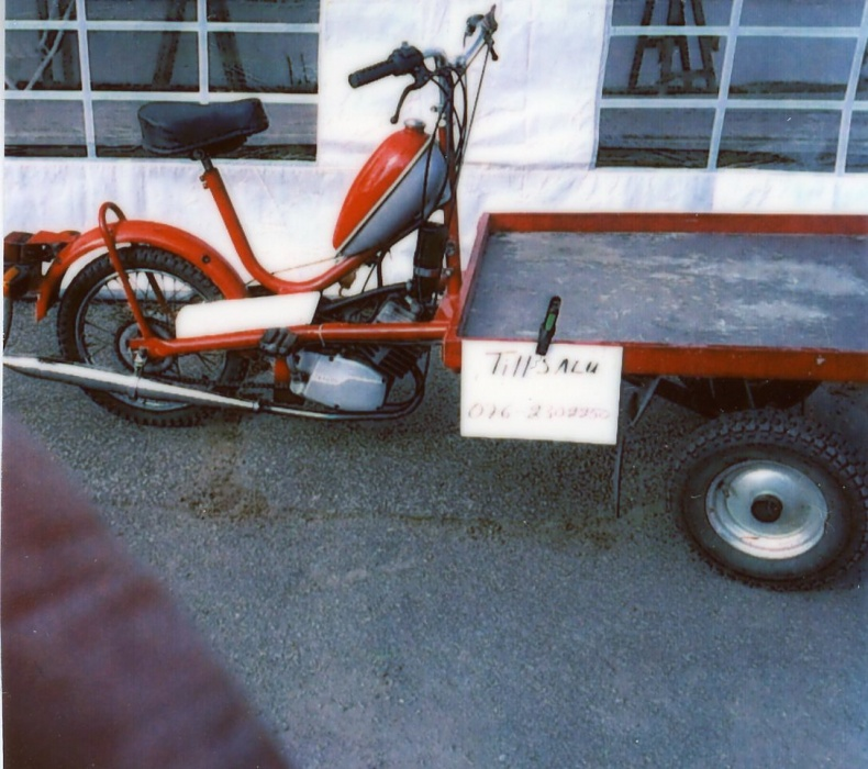 Flakmoped Packy