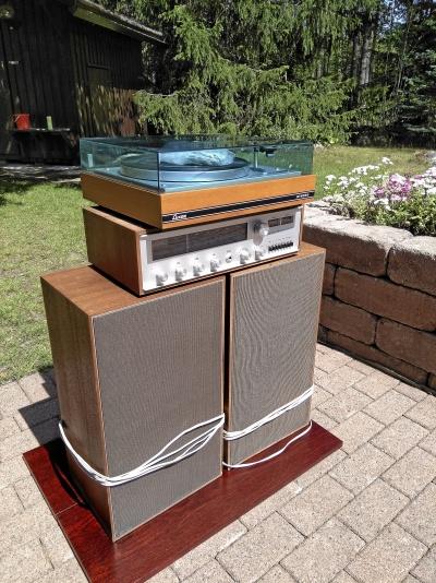 Vinylspelare 70-tal