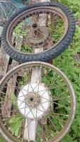 Två engelska hjul