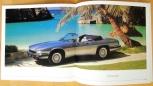Broschyr Jaguar XJS 1991 på svenska i storformat