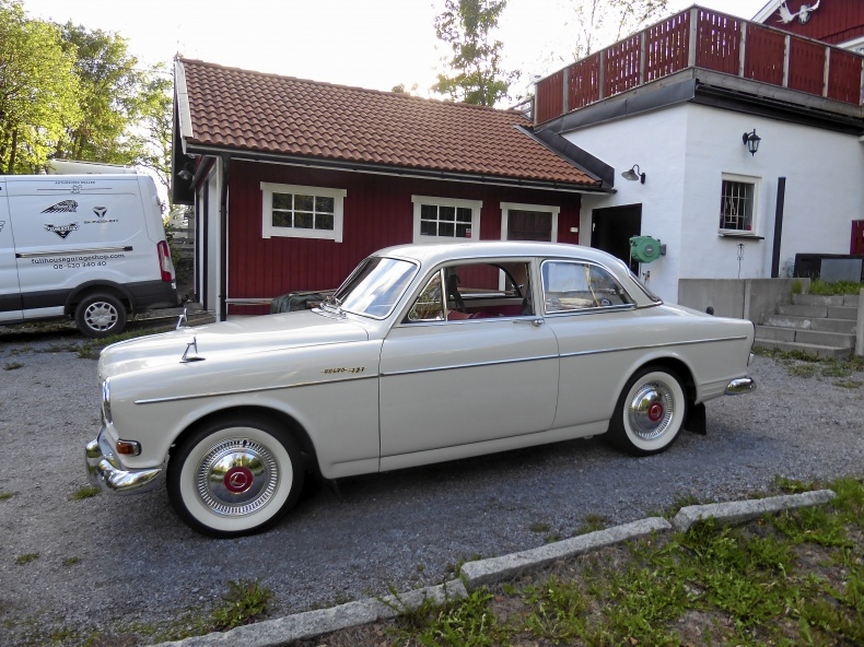 Volvo Amazon i unikt originalskick.