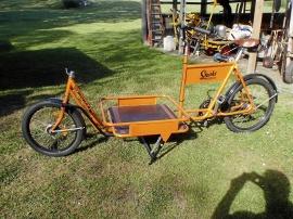 Monark lastcykel