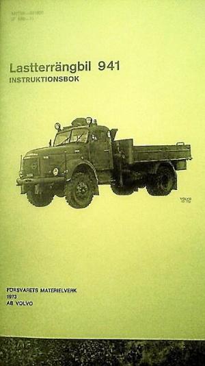 VOLVO LTGB 941 INSTRUKTIONSBOK