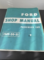 FORD SHOP MANUAL 1949-50-51