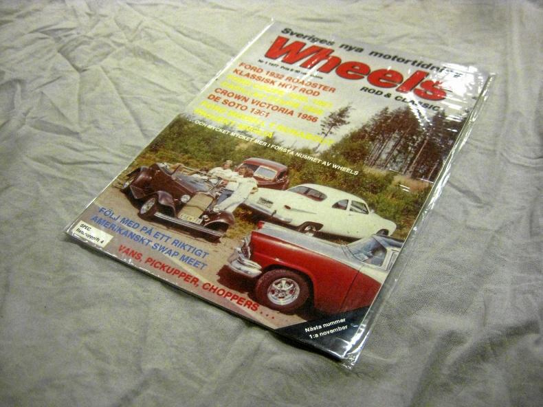 Wheels magazine Nr.1 1977