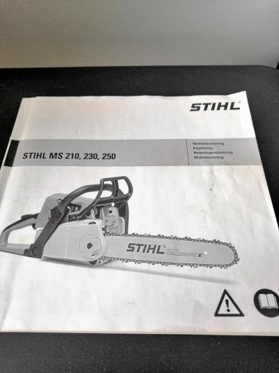 Manual till Motorsåg STIHL