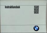 BMW 1500 1600 1800l instruktionsbok 1966