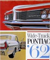 Broschyr Pontiac full-size 1962