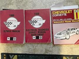 Verkstadshandböcker Chevrolet C4 1988