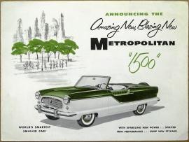 Broschyr Metropolitan 1500 1956