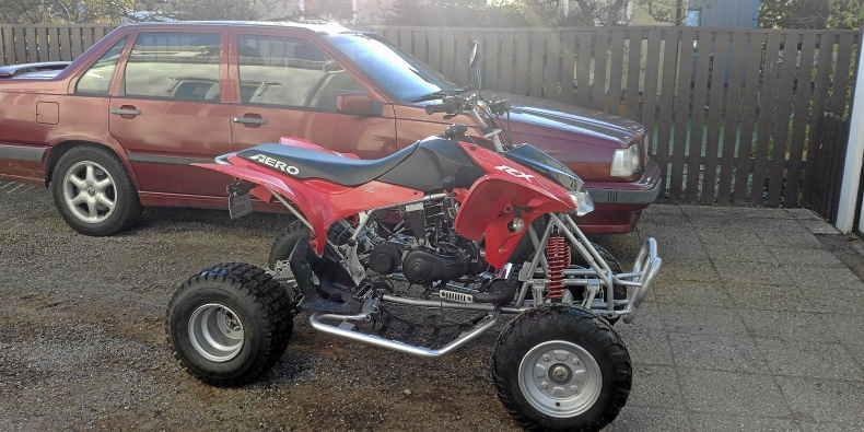 Aero RX50 Fyrhjuling