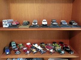 Modellbilar skala 1:43 och däromkring