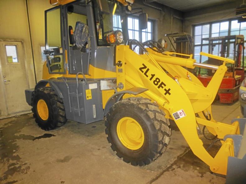 Fabriksny hjullastare ZL18F+