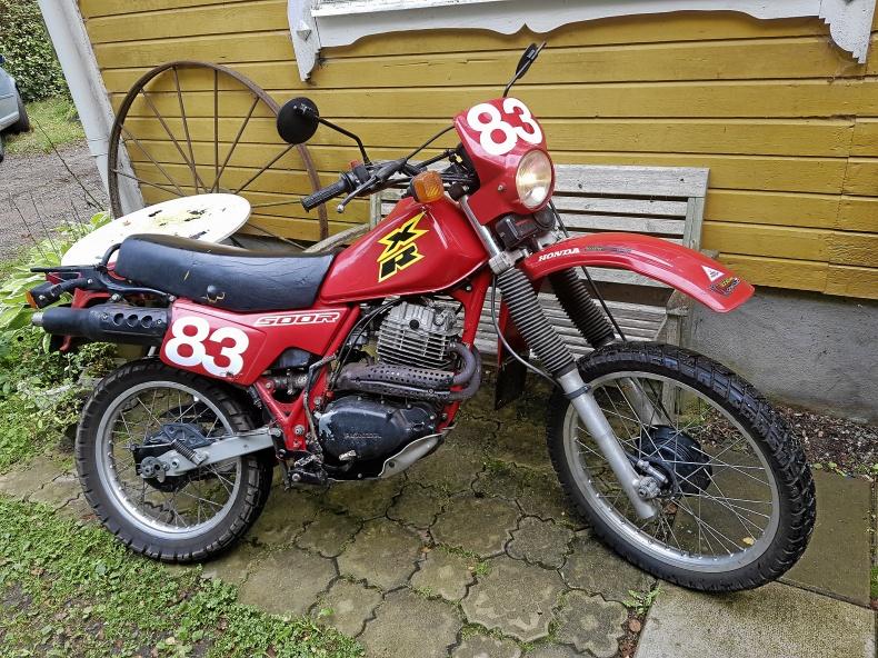 Honda XLr 400 cc