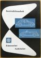 VW instruktionsbok 1961