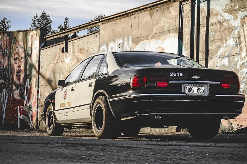 Chevrolet Caprice 9C1 Police
