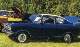 Opel Kadett B Kiemencoupe