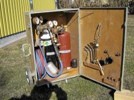 Komplett gassvetsutrustning