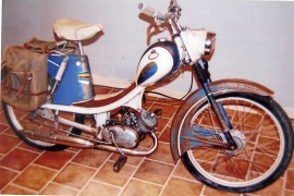 Monark moped 1960-tal