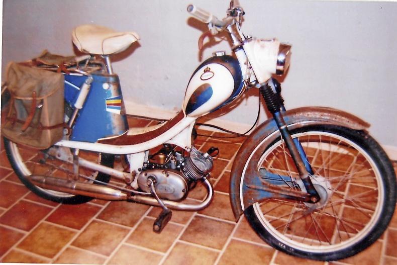 Monark moped 1960-tal