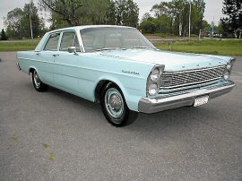 Ford Custom 4 Door-1965