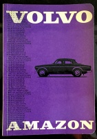 Instruktionsbok Volvo Amazon