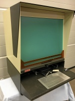 Microfiche läsare