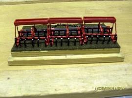 Modell av gammal lantbrukskultur