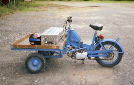 Flakmoped modell 1187