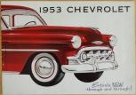 Broschyr Chevrolet 1953