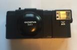 Kamera med fodral och instruktionsbok