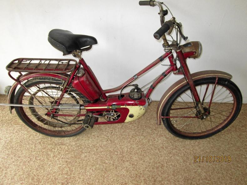 Moped Blixt