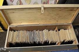 Unik samling 78 varvs skivor