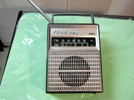 Gammal AiWA transistorradio