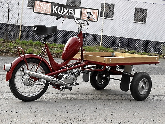 PUCH PACKY Flakmoped