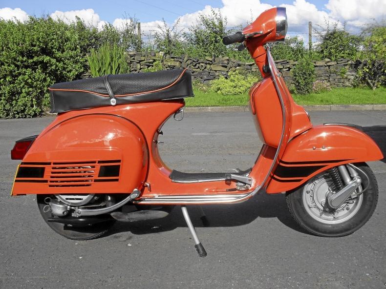 Vespa 50-70 talet köpes