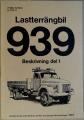 Volvo lastterrängbil 939 beskrivning del 1