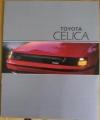 Broschyr Toyota Celica 1987