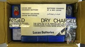 NOS Batteri till Triumph T-160 -75, 76