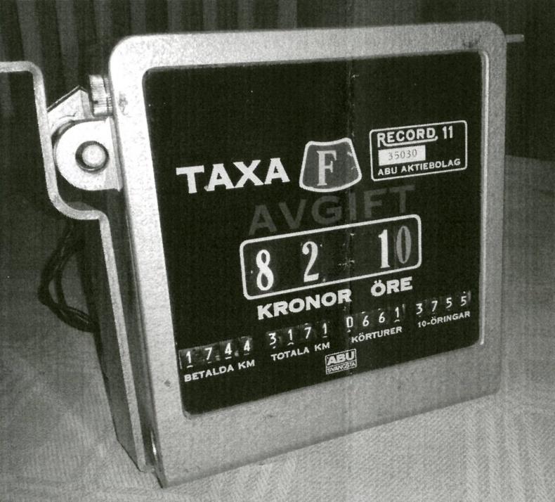 Taxameter