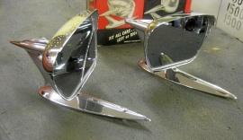 Backspeglar 1950-60 tal. Original US aftermarket