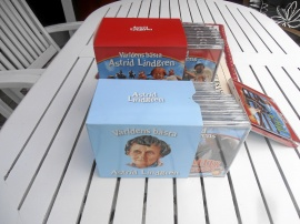 Astrid Lindgren 19 st CD i DVD box