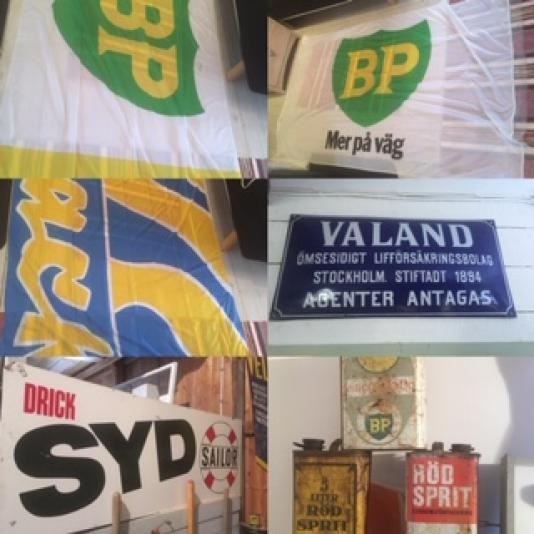 BP OVERALL OCH FLAGGOR