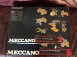 MECCANO låda 2 o 6 och SCHUCO Varianto