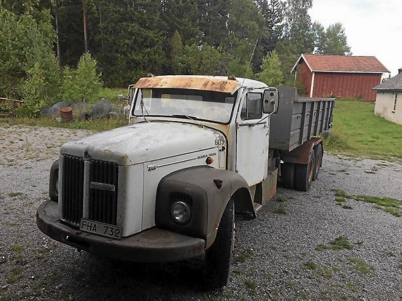 Lastbil Scania 76 - Vabis