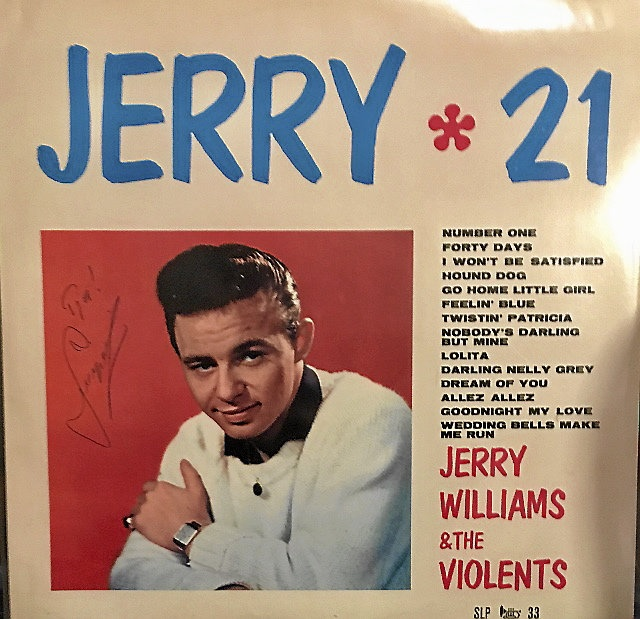 Jerry Williams (signerad)