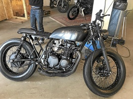 PAAL XVI Cafe Racer