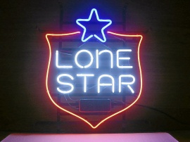Neon Skylt Lone Star